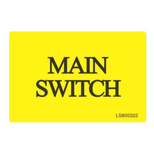 Main Switch - LS803522